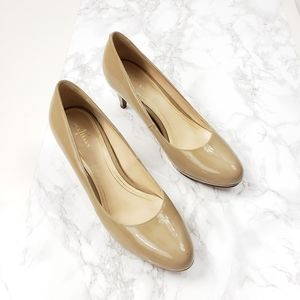 Cole Haan Nike Air Patent Nude Pumps